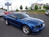 2006 Vista Blue Metallic Ford Mustang GT Premium Coupe #66410044