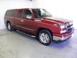 2007 Sport Red Metallic Chevrolet Silverado 1500 Classic LT Extended Cab #66410179