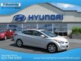 2013 Shimmering Air Silver Hyundai Elantra Limited #66410011