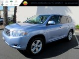 2010 Wave Line Blue Pearl Toyota Highlander Limited #66410006