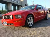 2007 Torch Red Ford Mustang GT Premium Coupe #66409985