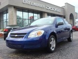 2007 Laser Blue Metallic Chevrolet Cobalt LS Coupe #66409982