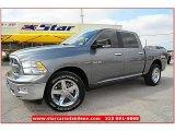 2010 Mineral Gray Metallic Dodge Ram 1500 Lone Star Crew Cab #66410137
