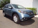 2012 Opal Sage Metallic Honda CR-V EX-L #66431689