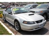 2001 Silver Metallic Ford Mustang GT Convertible #66438046