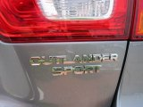 Mitsubishi Outlander Sport 2012 Badges and Logos