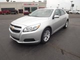 2013 Silver Ice Metallic Chevrolet Malibu ECO #66438004