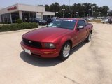 2007 Redfire Metallic Ford Mustang V6 Premium Coupe #66437990