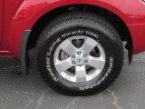 2012 Nissan Frontier SV Crew Cab 4x4 Wheel