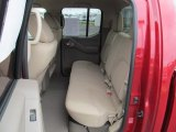 2012 Nissan Frontier SV Crew Cab 4x4 Rear Seat