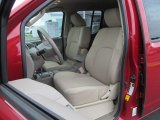 2012 Nissan Frontier SV Crew Cab 4x4 Front Seat