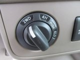 2012 Nissan Frontier SV Crew Cab 4x4 Controls