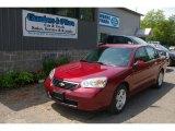 2007 Sport Red Metallic Chevrolet Malibu LT Sedan #66437875