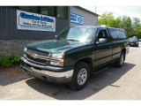 2005 Dark Green Metallic Chevrolet Silverado 1500 Regular Cab 4x4 #66437871