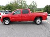 2012 Victory Red Chevrolet Silverado 1500 LTZ Crew Cab 4x4 #66438127