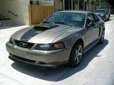2001 Mineral Grey Metallic Ford Mustang GT Coupe #66437869