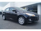 2012 Tuxedo Black Metallic Ford Focus SE Sedan #66437847