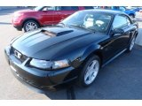 2001 Black Ford Mustang GT Coupe #66438094