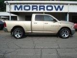 2011 White Gold Dodge Ram 1500 Big Horn Quad Cab 4x4 #66437827