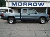 2007 Blue Granite Metallic Chevrolet Silverado 1500 Classic LS Extended Cab 4x4 #66437826