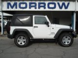 2012 Bright White Jeep Wrangler Sport S 4x4 #66437822