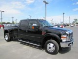 Black Ford F350 Super Duty in 2010