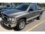 2005 Mineral Gray Metallic Dodge Ram 1500 SLT Quad Cab 4x4 #66488026