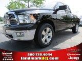 2012 Black Dodge Ram 1500 Big Horn Quad Cab 4x4 #66487664