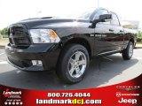 2012 Black Dodge Ram 1500 Sport Quad Cab #66487663