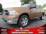 2012 Saddle Brown Pearl Dodge Ram 1500 Big Horn Quad Cab 4x4 #66487662