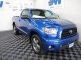 2007 Blue Streak Metallic Toyota Tundra SR5 Regular Cab #66487979