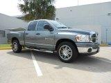 2007 Mineral Gray Metallic Dodge Ram 1500 SLT Quad Cab #66488270