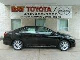 2012 Attitude Black Metallic Toyota Camry Hybrid XLE #66487513