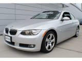 2009 Titanium Silver Metallic BMW 3 Series 328i Convertible #66487510