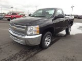 2012 Black Chevrolet Silverado 1500 LS Regular Cab #66487931