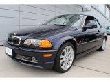 2002 Orient Blue Metallic BMW 3 Series 330i Convertible #66487506