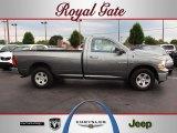 2010 Mineral Gray Metallic Dodge Ram 1500 SLT Regular Cab 4x4 #66487476