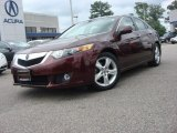 2009 Basque Red Pearl Acura TSX Sedan #66487473