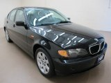 2002 Jet Black BMW 3 Series 325xi Sedan #66487451