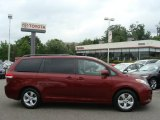 2011 Salsa Red Pearl Toyota Sienna LE #66487857
