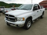 2003 Bright White Dodge Ram 1500 SLT Quad Cab 4x4 #66487828