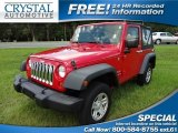 2011 Flame Red Jeep Wrangler Sport 4x4 #66488107