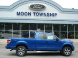2012 Blue Flame Metallic Ford F150 STX SuperCab 4x4 #66487789