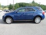 2010 Navy Blue Metallic Chevrolet Equinox LT AWD #66488068