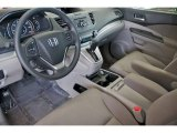 2012 Honda CR-V EX Gray Interior