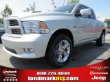 2012 Bright Silver Metallic Dodge Ram 1500 Sport Quad Cab #66487668