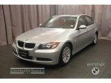2007 Titanium Silver Metallic BMW 3 Series 328xi Sedan #6637079