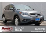 2012 Polished Metal Metallic Honda CR-V EX-L #66556789