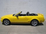2005 Screaming Yellow Ford Mustang V6 Premium Convertible #66556771