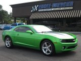 2010 Synergy Green Metallic Chevrolet Camaro LT Coupe Synergy Special Edition #66557389